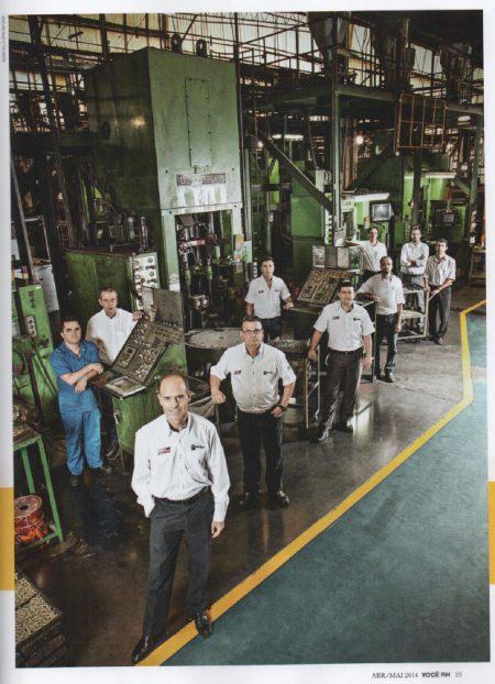 Gestão do Grupo Combustol & Metalpó ganha destaque na Revista Você RH