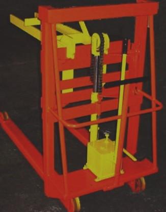 Carregador_Descarregador Empilhadeira CD500 - Combustol Fornos