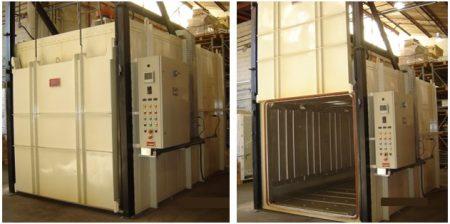 Estufa Elétrica Câmara EECM_300C_Porta Guilhotina - Combustol Fornos