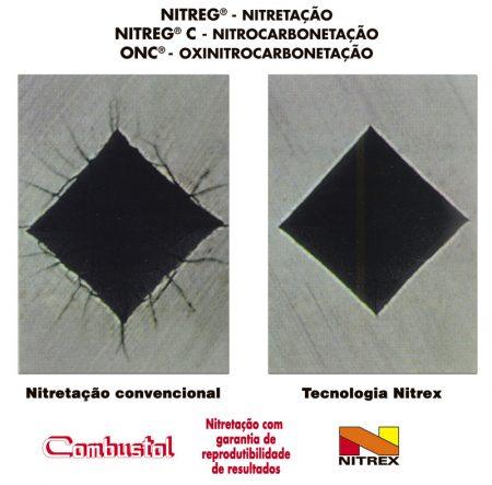 Nitretação Combustol e Nitrex