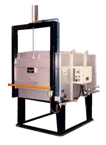 Forno Elétrico Câmara FECM 1200°C_Porta Vertical - Combustol Fornos