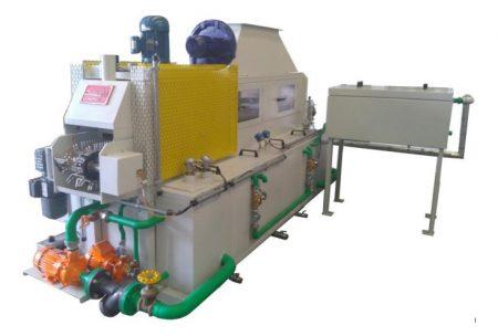 Máquina Lavadora Contínua de Três Estágios CEST - Combustol Fornos