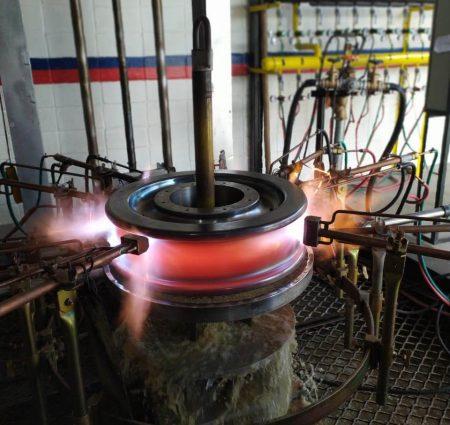 Combustol Minas inicia operações de Têmpera Superficial por Chamas