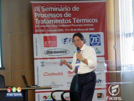 Palestra técnica da Combustol no III Seminário de Processos de Tratamentos Térmicos