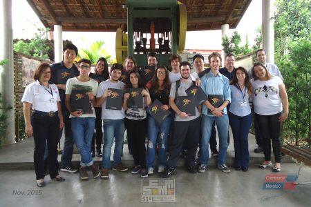 Estudantes da 51º SEMM da USP visitam as instalações do Grupo Combustol & Metalpó