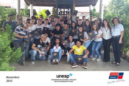 Metalpó recebe os estudantes da UNESP Itapeva para conhecer sobre a metalurgia do pó