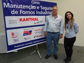 Palestra da Combustol no I Curso de Segurança e Manutenção de Fornos Industriais
